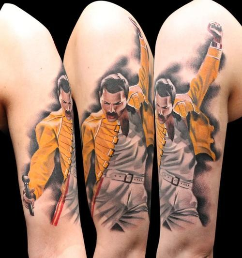 Freddie Mercury Tattoo