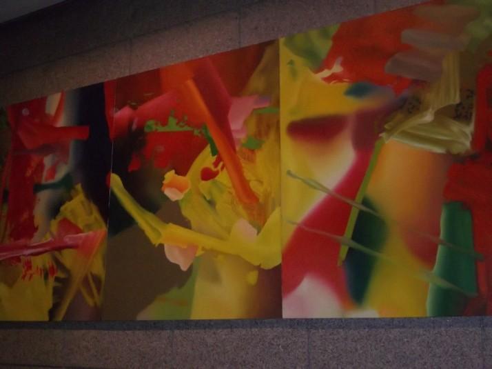 Gerhard Richter Abstraktes Bild (Faust) 1980