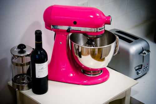 Hot Pink Cake Mixer