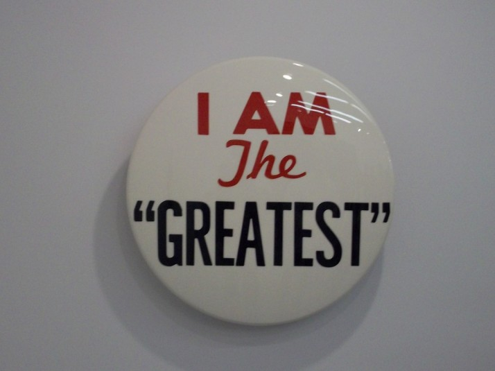 Hank Willis Thomas I Am The Greatest Button