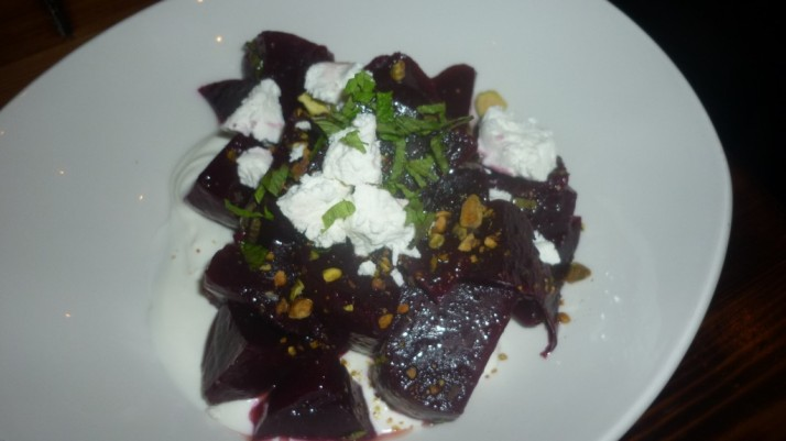 Roasted Baby Beet Salad