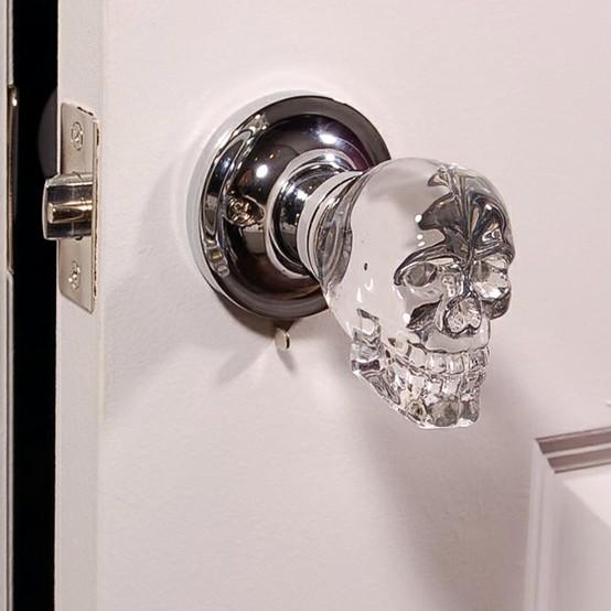 Skull Door Knob
