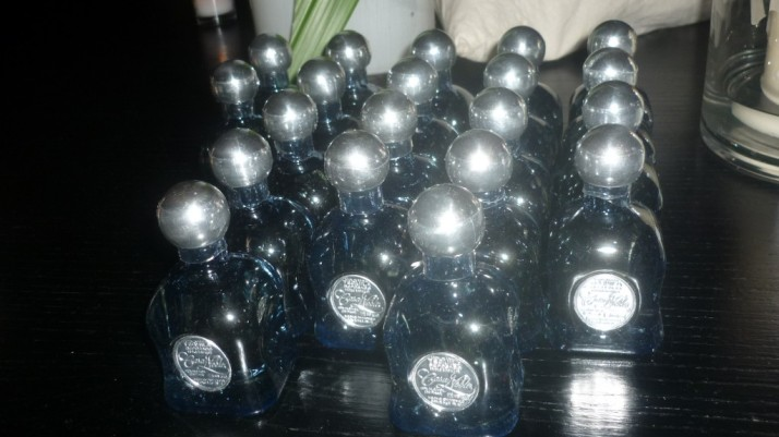 Tiny Bottles of Casa Noble Tequila