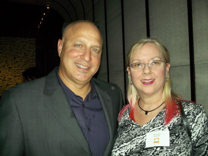 Tom Colicchio and Gail Worley