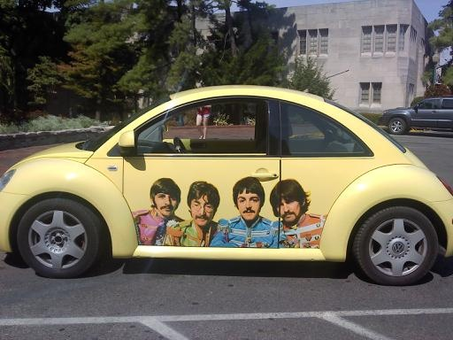 Beatles on a Beetle