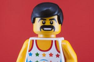 Freddie Mercury Lego