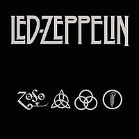 Led Zeppelin Logo with 4 Symbols