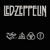 Led Zeppelin Logo with 4 Symbols