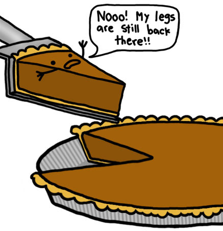 Pumpkin Pie No Legs
