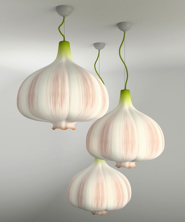 Garlic Bulb Lamp Shade