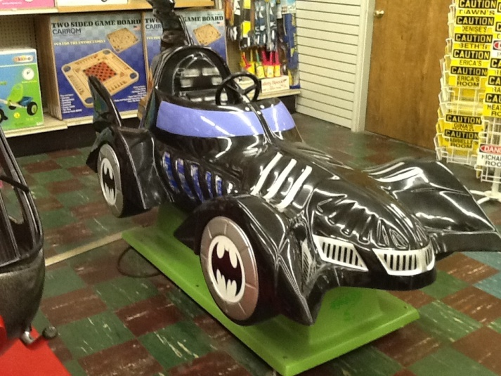 Bat mobile Kiddie Ride