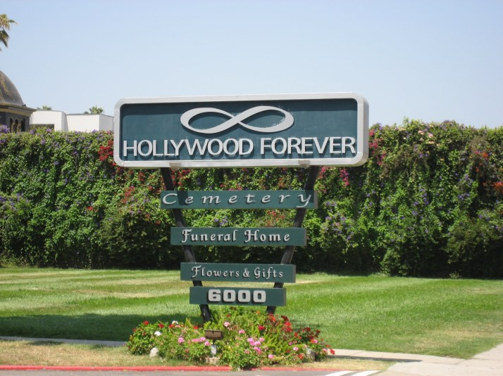 Hollywood Forever Sign