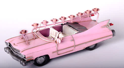 Pink Cadillac Menorah