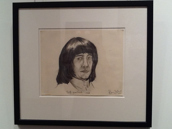 Self Portrait By Ron Wood