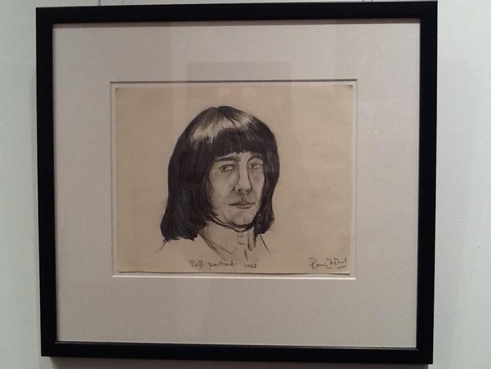 Self Portrait By Ron Wood
