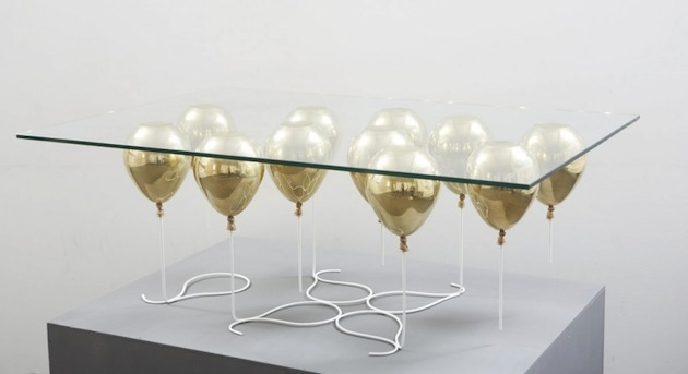 UP Inspired Cocktail Table By Christopher Duffy
