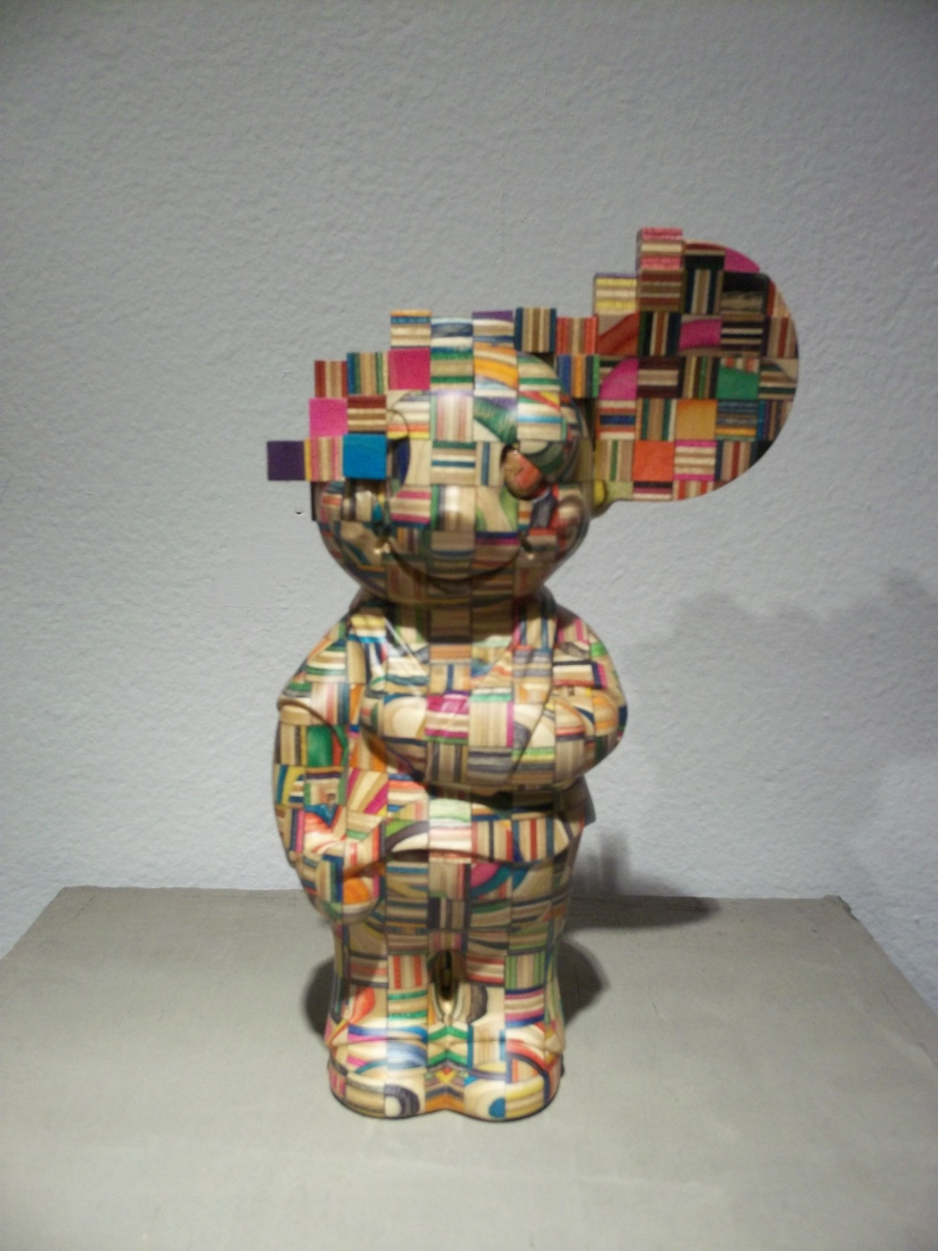 Haroshi Mouse Sculpture