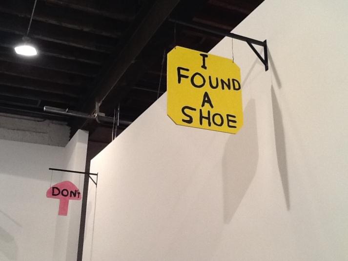 I Found a Shoe