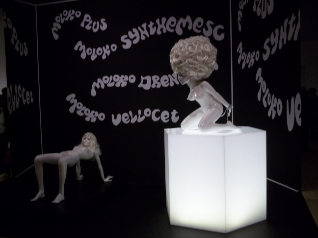 Kubrick Clockwork Milkbar Props