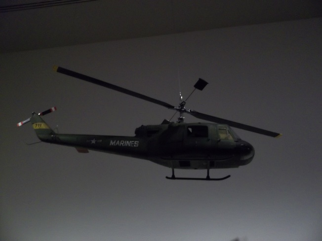 Kubrick Hellacopter Model from Full Metal Jacket