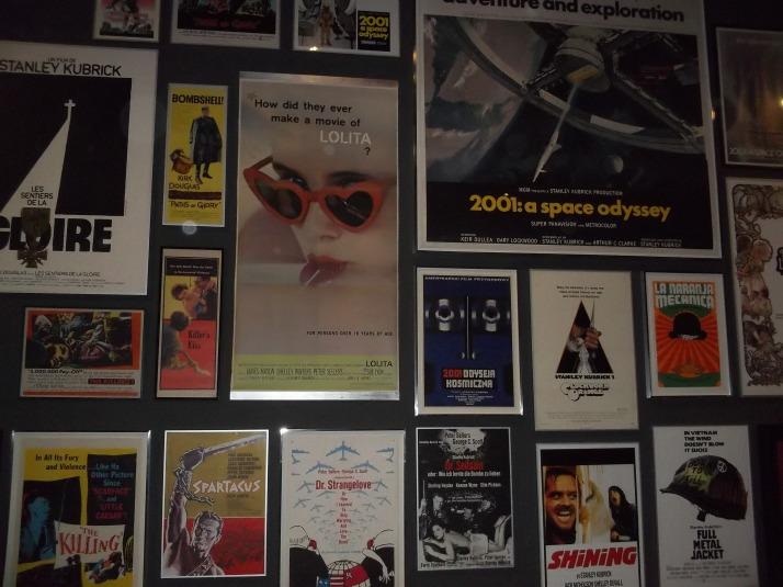 Kubrick Posters Wall