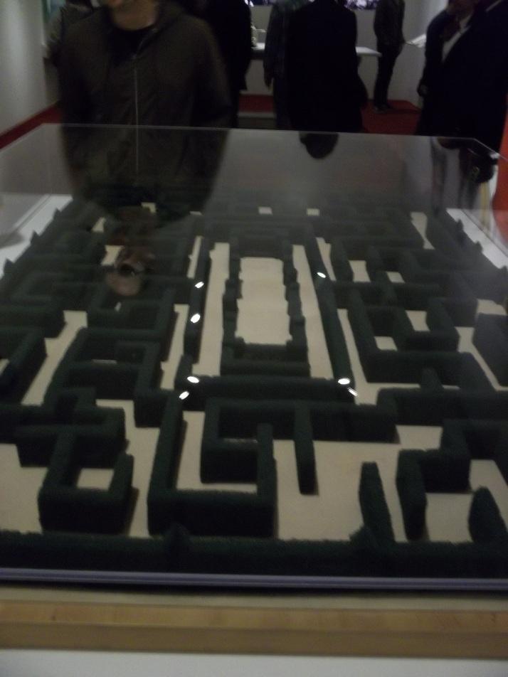 Kubrick Shining Hedge Maze Miniature