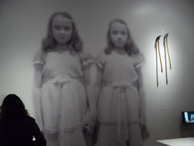 Kubrick Shining Room Wall with Axes