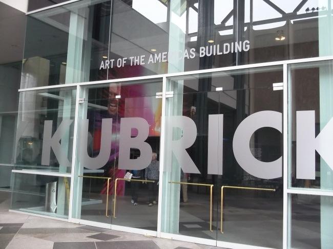 LACMA Kubrick Exhibit Title