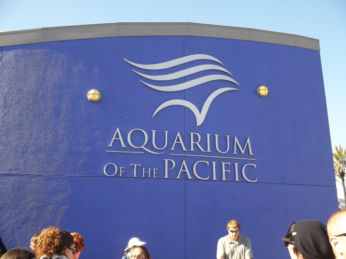LB Aquarium of the Pacific Entrance