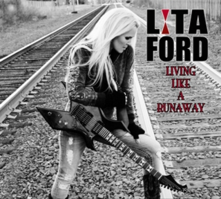 Lita Ford Living Like a Runaway CD Cover
