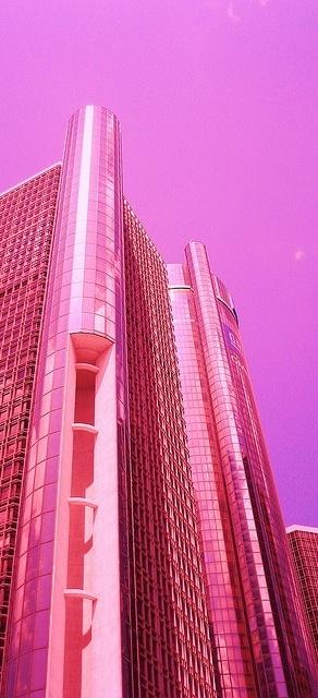 Pink Skyscraper
