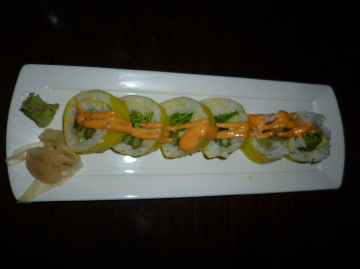 Vegetariano Sushi Roll