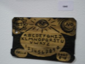 Metrocard Art Ouija Board
