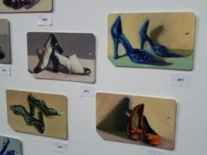 Metrocard Art Various Shoes