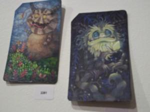 Metrocard Art Monsters