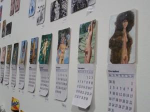 Metrocard Art Kinetic Pin Up Calendars