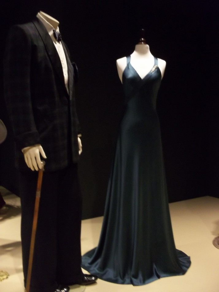 Bowers Costumes Black Gown and Suit