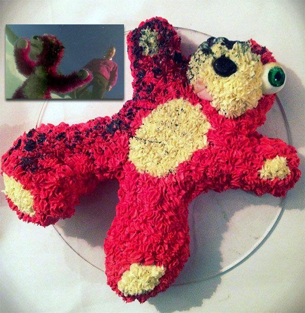 =Breaking Bad Teddy Bear Cake