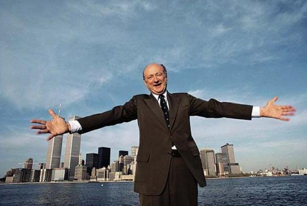 Ed Koch in Manhattan