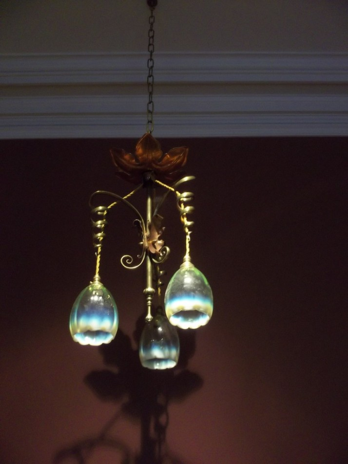 Huntington Library Art Nouveau Lighting