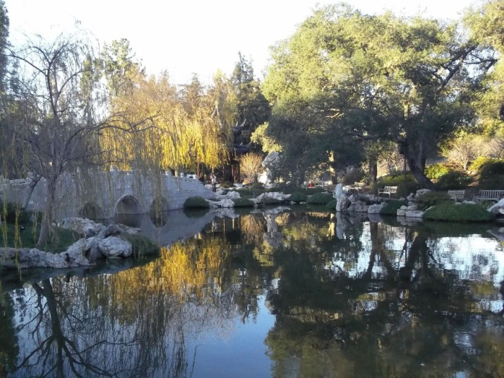 Huntington Library Japanese Garden Lake