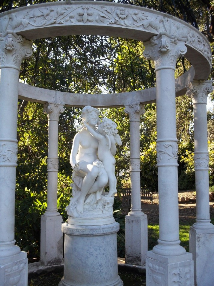 Huntington Library Marble Statue Gazebo