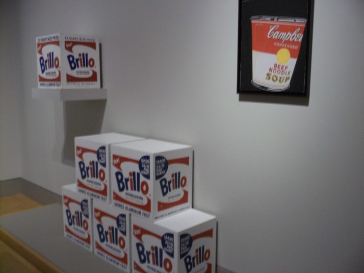 Huntington Library Warhol Brillo Boxes