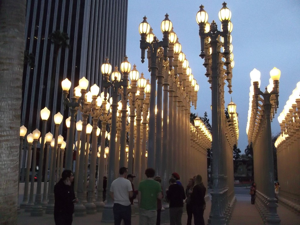 Urban Light By Chris Burden At Lacma The Worley Gig