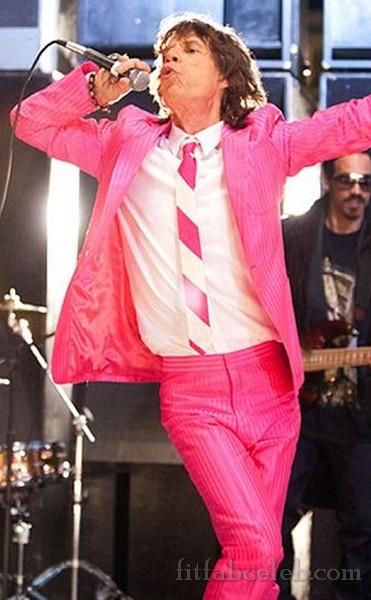 Pink Mick Jagger