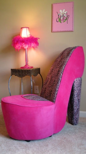 Pink Shoe Chair