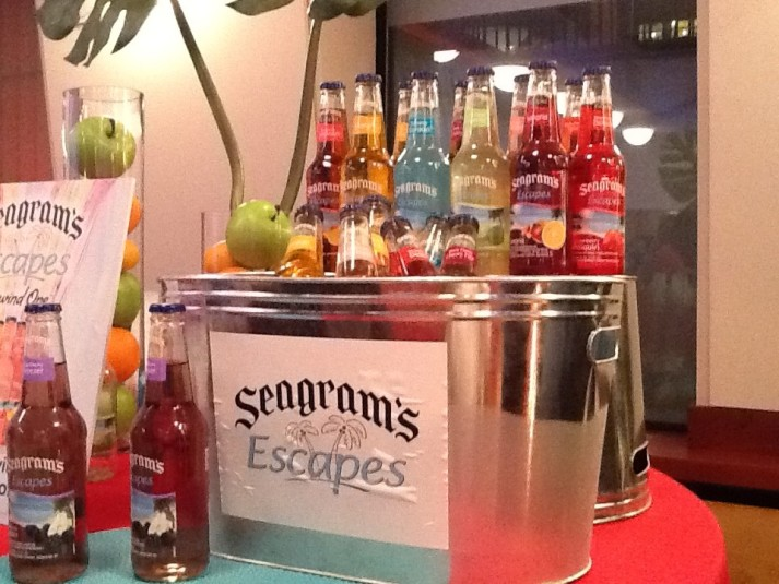 Seagrams Escape Cocktails