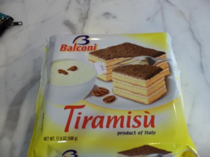 Tiramisu on a Box