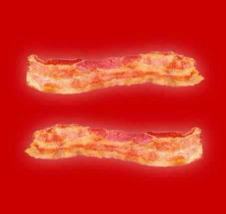 Bacon Thing Of The Day Bacon Marriage Equality Symbol The Worley Gig