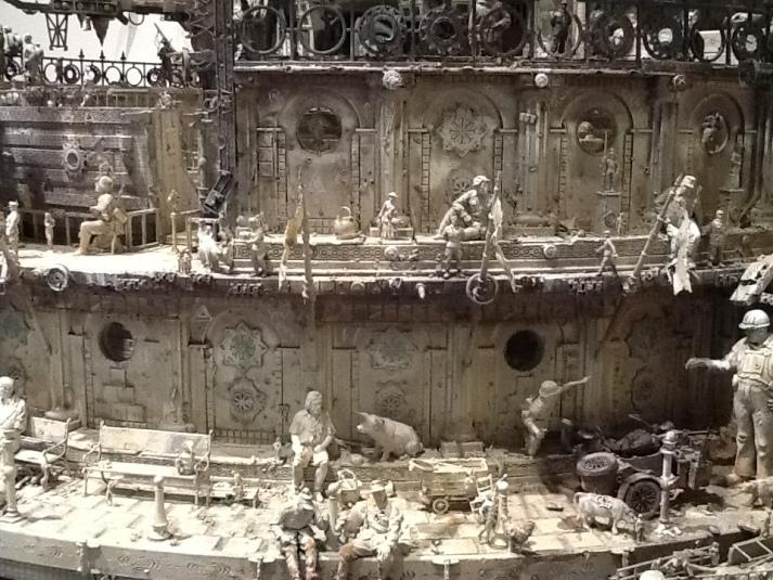 Kris Kuksi Neo-Roman Opera House Detail